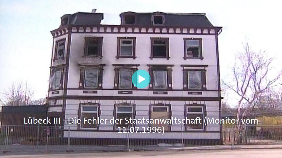 Neues zum Brandanschlag in Lübeck